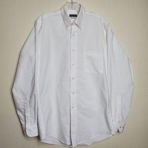 Van Heusen Men's Dress Shirt Regular Fit Oxford